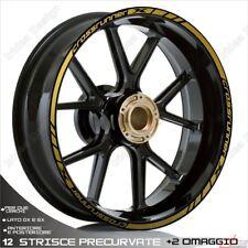 Trims Stickers Sport Wheel Wheel Stickers Honda VFR 800 x Crossrunner Gold