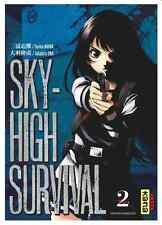 manga Sky High Survival Tome 2 Seinen Takahiro Oba Tsuina Miura Dark Kana Big VF