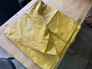 Vintage Gold Vinyl Shower Curtain