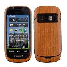 Skinomi Light Wood Full Body Phone Skin+Screen Protector Cover for Nokia C7