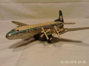 Vintage KLM-Royal Dutch Airlines Friction Plane - Made in Japan