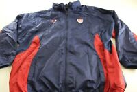 MINT Nike Thick Wind Zippered Track Jacket Hood USA Soccer XL Extra Large
