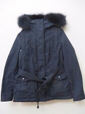Burberry Brit Cloverdale Parka BLACK  Coat Jacket w/Warmer Size 06 EU40 MSRP S 1