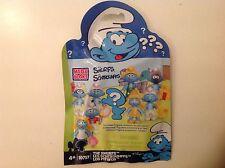 New Mega Bloks The Smurfs Random Figure Blister Pack Unopened Random Set 10757
