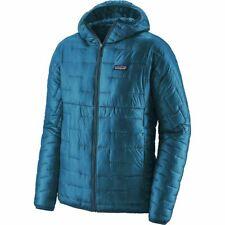 BNWT Men's Patagonia Micro Puff Hoody Balkan Blue Jacket Size Small
