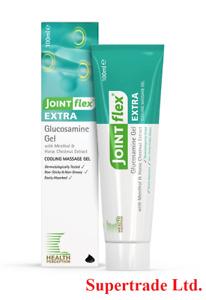 3 X Health Perception Joint Flex Glucosamine Gel Extra Cooling Massage Gel 100ml