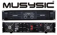 MUSYSIC Professional 2 Channel 9000Watts DJ PA Power Amplifier Signal out MU-P9K