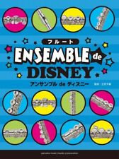 Disney Song Collection for Easy to Intermediate Flute Ensemble Sheet Music Book