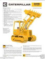 Equipment Brochure - Caterpillar - 931B Lgp Tractor Crawler Loader c1979 (E1757)