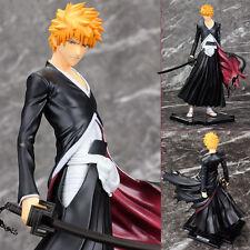 "Anime GEM Bleach Kurosaki Ichigo PVC 8"" Statue Figure Bankai Zangetsu"