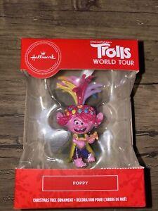 Hallmark Christmas Ornament 2020 Trolls World Tour Poppy Walmart Exclusive