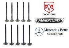 For MB Dodge Freightliner Sprinter 2500 3500 5 Intake & 5 Exhaust Valves Kit