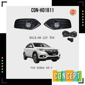 For 2019-2021 Honda HR-V Fog Lights Lamps with Assembly Set L&R Side