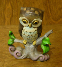Jim Shore Heartwood Creek #4044525  Mini OWL on Branch, NEW from Retail Store