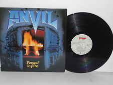 ANVIL Forged In Fire LP 1983 Canadian Press Attic LAt1170 Plays Well Heavy Metal