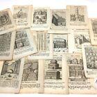 c1719 Large Collection of DESCRIZIONE DI ROMA antica e moderna ENGRAVINGS, MAPS