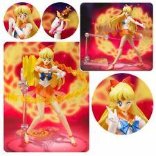 Bandai Tamashii Sailor Moon S.H. Figuarts Super Sailor Venus Action Figure USA