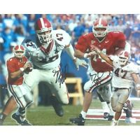 David Greene & David Pollack Autographed/Signed Georgia Bulldogs 11x14 Collage