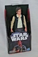 "Star Wars Hans Solo A New Hope Action Figure Harrison Ford Hasbro 6"" NEW"