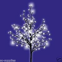 5FT 1.5M INDOOR OUTDOOR LED BLOSSOM TREE CHRISTMAS CHERRY 150CM LIGHT TREES