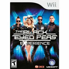 NEW Nintendo Wii The Black Eyed Peas Experience Video Game Fergie rock Will.I.Am