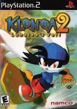 Klonoa 2 Lunatea's Veil PS2 Great Condition Fast Shipping