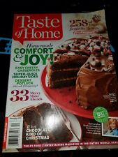 Taste Of Home Comfort & Joy Magazine Issue December 2014