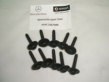 Genuine Smart Fortwo & Roadster Body Panel Screws X10 A0059900412 NEW