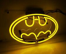 """""""Batman""""Game Room Bistro Superhero Wall Window Neon Sign Light Beer Bar Poster"""