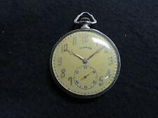 Antique Illinois Pocket Watch The Autocrat 17 Jewels GREAT SHAPE NEEDS TLC