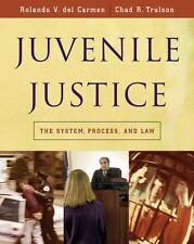 Juvenile Justice : The System, Process and Law by Chad R. Trulson Del Carmen