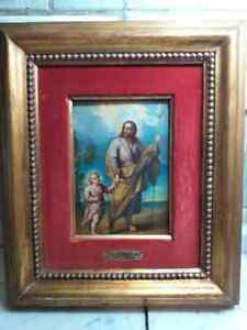 Original Luca Giordano Antique Antica Ancienne oil painting dipinto tableu huile