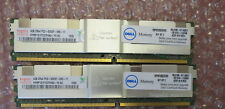 Dell 8GB (2x 4GB) DDR2 SDRAM PC2-5300F 240-pin ECC Server Ram SNP9F035CK2/8G KIT