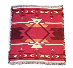 Flame Southwestern Super Soft Throw Blanket Tribal Boho 50x60 *FREE SHIPPING*