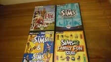 Sims PC Spielepaket Sims losgelassen, House Party, Pet Geschichten & Family Fun