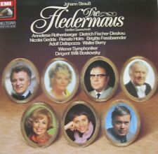 DIE FLEDERMAUS - ANNELIESE ROTHENBERGER - RENATE HOLM a.o.  -  LP - QUADRO