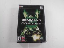 Command & Conquer 3 Tiberium Wars PC 2007 CIB Complete Video Game Strategy