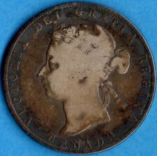 Canada 1898 50 Cents Fifty Cents Silver Coin - Very Good