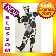 C3 Comical Cow Animal Funny Mens Fancy Dress Halloween Animal Adult Costume