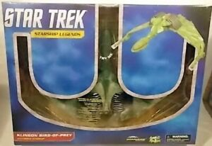 Star Trek Klingon Bird Of Prey Diamond Select Sound & Lights Starship Legends