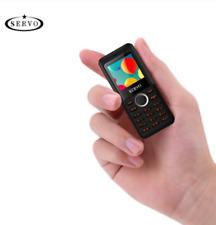 Smallest Magic Voice Cell Phone SERVO M5  Bluetooth Dialer Dual Sim Mini Phone