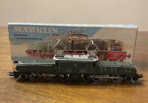Märklin HO #3015 Swiss Crocodile Electric Locomotive With Box 1965-1975