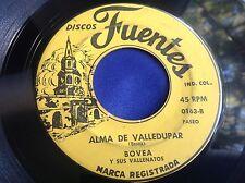 Rare Latin Merengue 45 : Bovea ~ Marca Registrada ~ La Mujer Celosa ~ Fuentes
