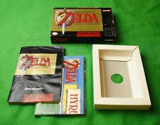 Legend of Zelda : Link to the Past •Super Nintendo SNES • 1992 *Box & Manual*