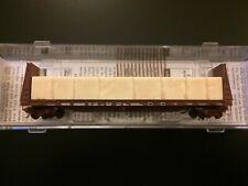 Cotton Belt N scale Micro Trains Bulkhead Flat