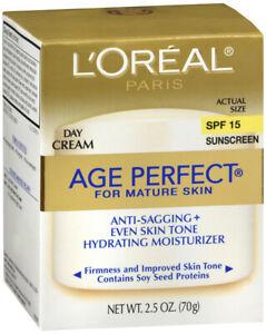 LOREAL AGE PERFECT CREAM DAY 2.5OZ