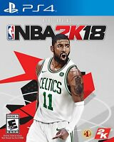 NBA 2K18 Basketball for PS4 Playstation 4 Pro Console New Sealed Ships Fast !!!