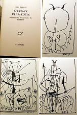 PICASSO/J.TARDIEU/L'ESPACE ET LA FLUTE/VARIATIONS SUR 12 DESSINS/NRF/VERS 2003