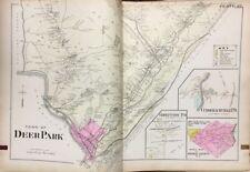 1903 A.H. MUELLER ORANGE COUNTY NY DEER PARK CUDDEBACKVILLE GODEFFROY ATLAS MAP