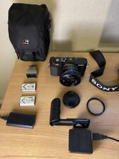 Sony Cyber-shot Dsc-Rx1 Full Frame Compact Digital Camera with accessories